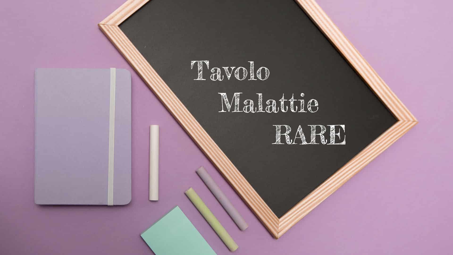 Tavolo Malattie rare